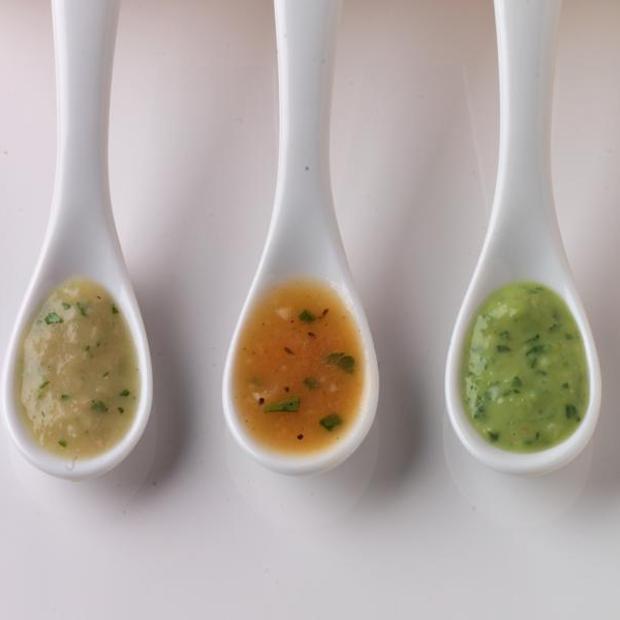 Chopped Salad With Cilantro-Cumin Dressing