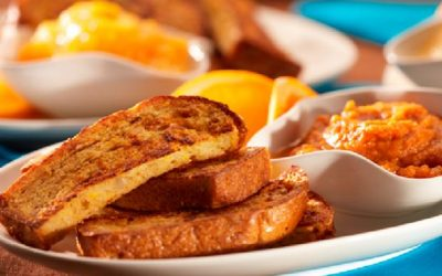 French Toast Fingers with Dips
