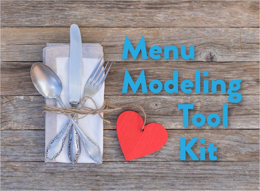 Menu Modeling Tool Kit