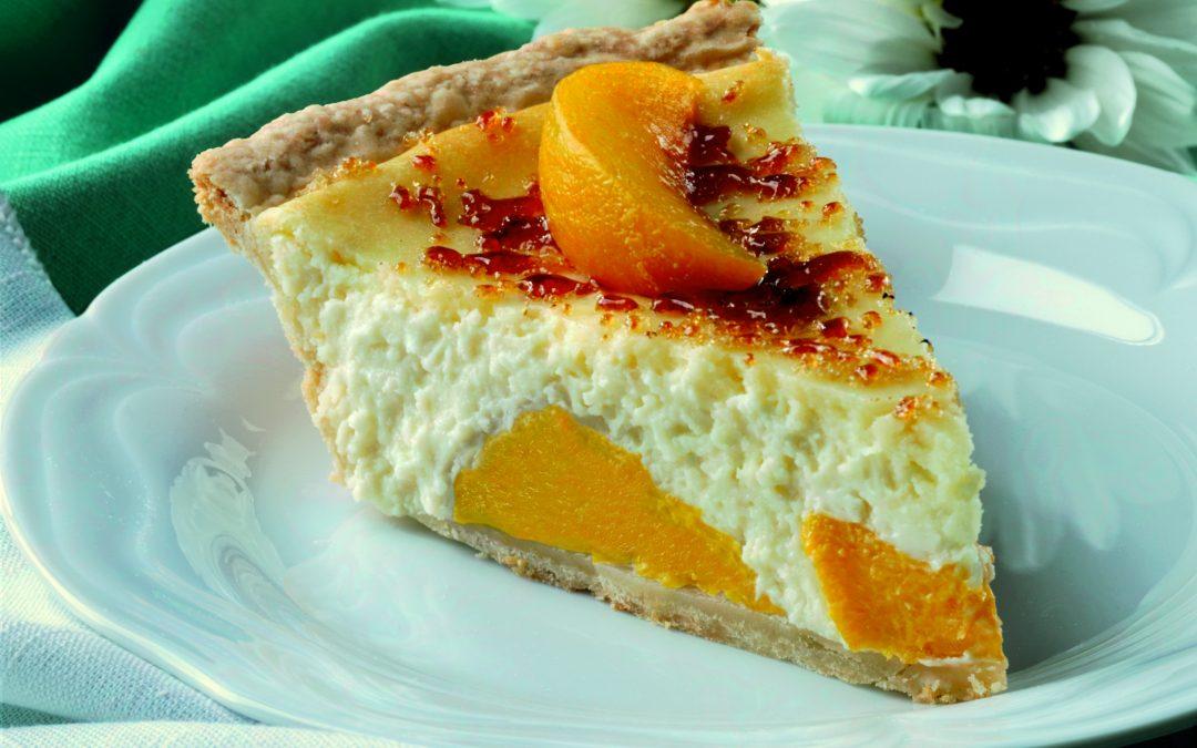 California Peaches & Cream Pie