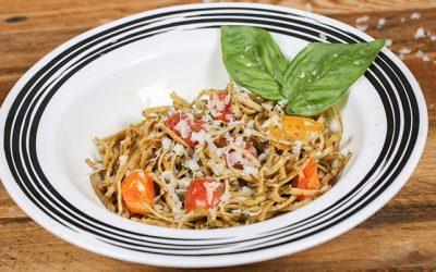 Pesto Pasta / Tri-color Tomatoes